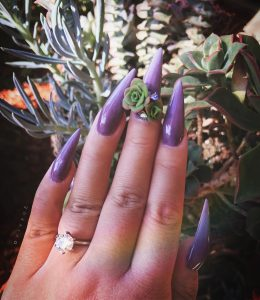 Would You Wear Succulents On Your Fingertips?